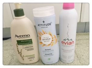 Image Description: more fragrance-free products for the hair, body and face. More detailed description on each product is in the blog.